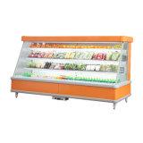 Armário Multideck refrigerados Supermercado Multideck Vertical Aberto Preço do chiller