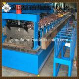 0.8-1.5m m galvanizaron el rodillo del Decking del suelo de acero que formaba la máquina