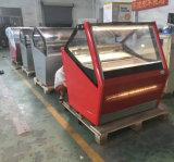 Охлажденных Showcase морозильной камере для мороженого Гелато Экономи