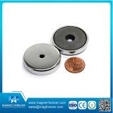 De industriële Permanente Ceramische Kokende Magnetische Haak van de Magneet van het Ferriet van de Pot