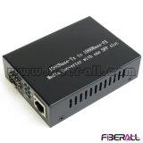 Gigabit SFP Conversor de mídia ótica externo 1.25g LC Sm 60km