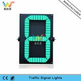 Ce RoHS un temporizzatore chiaro di conto alla rovescia di traffico di verde LED di Digitahi