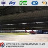 Sinoacme Prefabaricated Bastidor de acero de la luz de la capacidad de Hangar Avión