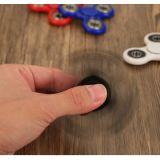 Anti girador colorido da mão do giroscópio do dedo do fulgor da fluorescência do esforço para o brinquedo inteligente das crianças adultas
