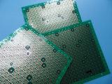 persianas gruesas de la tarjeta 8layer del PWB de 0.6m m vía con el oro de la inmersión