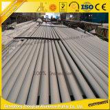 Tube en aluminium anodisé en aluminium à la série 6000 à la carte personnalisée