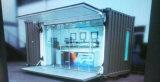 De laag Draagbaar Eenvoudig Mobiel Geprefabriceerd/PrefabKoffiebar van de Winst/Huis in de Straat