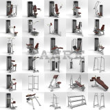 Máquina ajustable de la fuerza de la tarjeta del Ab del equipo de la aptitud de la gimnasia