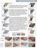 H Tipo de Perfiles para pisos antideslizante fabricado en aluminio