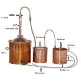 Nuevo destilador casero hecho de cobre del alcohol ilegal del alcohol de la llegada 18L/5gal aún