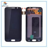完全なSamsung S6の表示画面のための携帯電話の接触LCD
