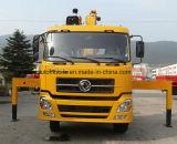 Dongfeng 4*2 de Telescopische Kraan van 180 PK Opgezet op de Prijs van de Vrachtwagen van de Lading