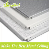 Panneaux de plafond suspendus acoustiques en aluminium