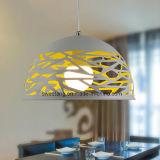 Lamp van de Tegenhanger van de Kroonluchter van de Levering van China de Moderne met Gat voor Restaurant