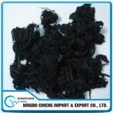 Seda de Fibra de Carbono Activada Larga Mancha Negra