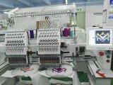 2 Köpfe 12 Farben-Shirt-Schutzkappen-Stickerei-Maschinen-Preise