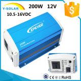 Inverseur pur solaire Sti200-12 d'onde sinusoïdale de Sti200W-12V/24V 10.5-16VDC 50Hz