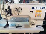 Máquina de coser del punto de cadeneta resistente del pie de la sola aguja que recorre