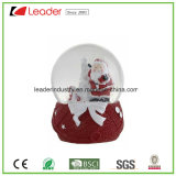 Глобус снежка подарков Polyresin с подгоняно для домашнего украшения и выдвиженческих подарков