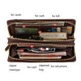 Бумажник людей владельца карточки PU OEM таможни логоса Fani кожаный