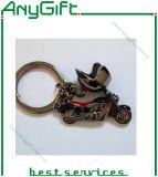 주문을 받아서 만들어진 로고를 가진 재고 형 금속 Keychain