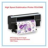 Trazador de gráficos de la impresora de sublimación de tinte con la pista de 4PCS Epson 5113