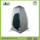 أحد شخص وحيدة طبقة مرحاض خيمة مع أرضية