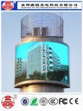 Alto brillo impermeable P5 que hace publicidad de la pantalla del LED