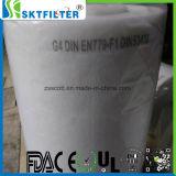 Filtro de fibra sintética rollos medios del filtro de aire acondicionado