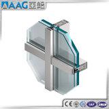 Perfil de alumínio do sistema PVDF da parede de cortina