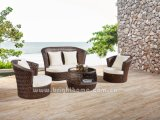 Hand Craft Outdoor Wicker Sofa Set Móveis Dubai Series