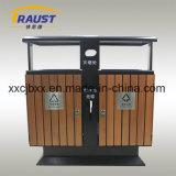 Бочонок хлама Curbside классифицирования высокого качества напольные, древесина и чонсервная банка отброса утюга