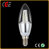 3W高品質新式のLEDの球根の蝋燭のフィラメントライト
