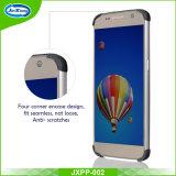 360 Geval van de Telefoon van het Lichaam van de graad het Volledige Hybride Voorzijde terug met Aangemaakt Glas voor de Rand van /S7 van de Melkweg van Samsung S7
