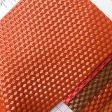 Het Leer van pvc van het Ontwerp van de kubus voor het Maken van Zakken