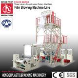 Machine de soufflage de film de coextrusion à trois couches avec tête de roulement rotative