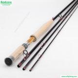 pesca Rod della mosca dell'interruttore della fibra del carbonio 4/5wt di 11FT