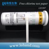 Papel de teste livre disponível da água do cloro da amostra (LH1007)