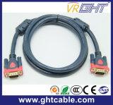 Cabo VGA Masculino / Masculino de Alta Velocidade 3 + 9 para Monitor / Projetor