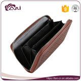 Fani самое последнее RFID преграждая бумажник перемещения, портмоне пасспорта PU кожаный