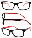 Optische Frame Van uitstekende kwaliteit van de Voorraad van de Acetaat van de rechthoek het Klaar
