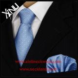 Cravatte tessute seta pura Handmade di affari di modo di 100%