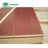 China E2 Glue 5mm Melamine Laminated MDF Backing Board Supplier