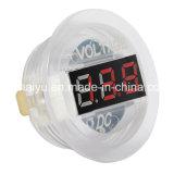 Universal Digital Display Voltímetro Waterproof Voltage Meter LED para DC 12V-24V Car Motorcycle Auto Truck