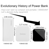 Ultra Slim Universal 10000mAh Power Bank for Ios and Android