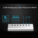 Эпицентр деятельности 4 портов Desktop USB3.0 многофункциональных с заряжателем USB 2*5V 1*QC2.0