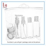 構成の装飾的な洗面用品の液体容器のための旅行びん