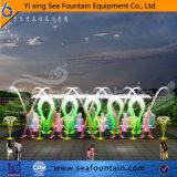 Type interactif fontaine de l'eau d'éclairage LED divers de musique de multimédia
