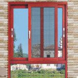 Guangzhou Aluminiumwindows, das spät Fenster-Entwurf mit Fenster-Schutz schiebt