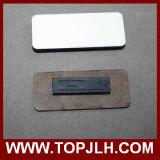 Etiqueta conocida magnética de madera del MDF de la impresión conocida de encargo